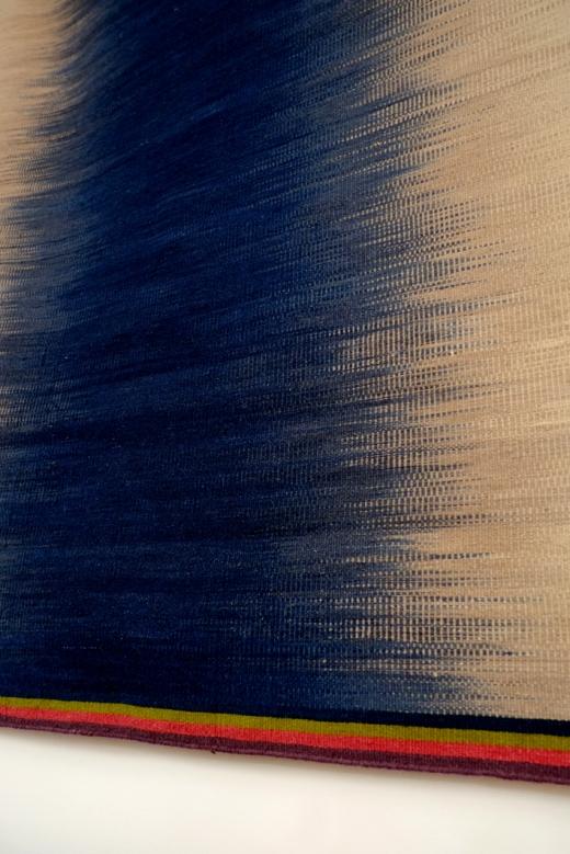 Petrol Blue Gelim - Detail 1 - Ptolemy Mann